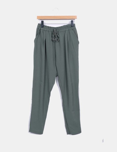 Pantalon baggy verde NoName