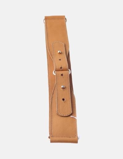 Cinturón fajín mostaza