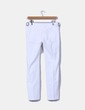 Pantalón blanco texturizado Mango