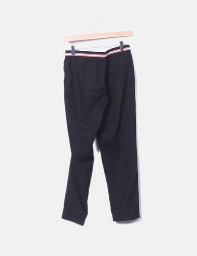 Negro Pantalón Elastico Con Micolet 71 Zara descuento T570fqww 0eb962f46f42