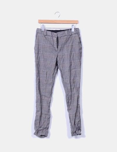 Pantalón chino de cuadros Pedro del Hierro