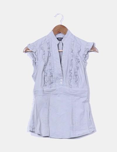 Blusa gris  Suiteblanco