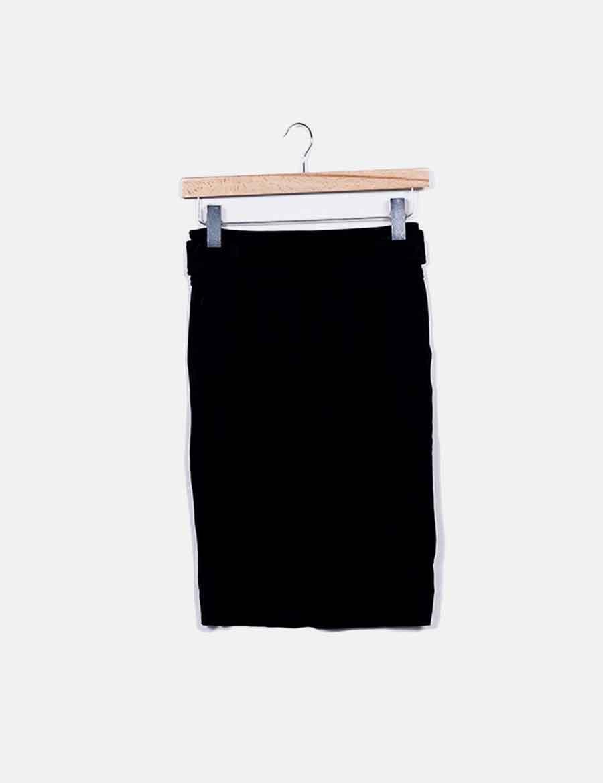 5cc480ce36 Falda elástica de online negra NoName Faldas baratas tubo rwrFxtdqT ...