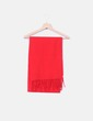 Bufanda roja de lana Tommy Hilfiger