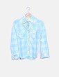 Camisa azul cuadros Kulte