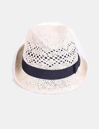 H M Sombrero de paja con lazo negro (descuento 71%) - Micolet 5e442c596cc