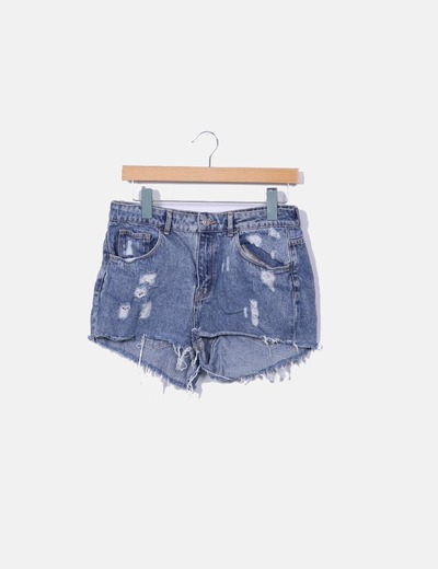 Shorts denim ripped