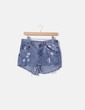 Shorts denim ripped H&M