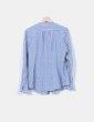Chemise bleue et blanche à carreaux Springfield