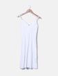 Robe blanche d à bretelles Vero Moda