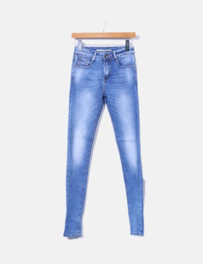 Jeans denim pitillo Lexxury