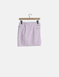 Mini falda rosa baby cremalleras Bershka