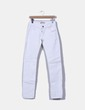 Pantalón denim blanco Zara