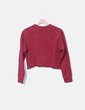 "Sweat crop sweatshirt ""me chame"" Pull&Bear"