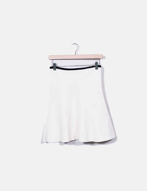 4dc19b8559 Falda Faldas evasé Zara online baratas tricot blanca ww6q4f - sushi ...