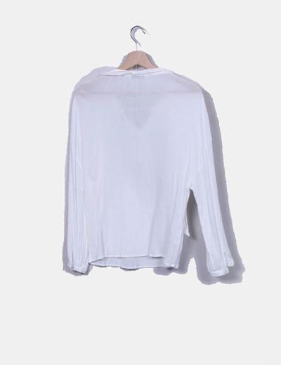 Blusa boho blanca