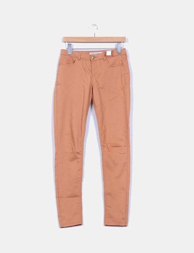 Pantalón elástico camel Lefties