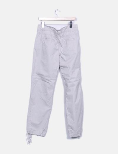 Pantalon baggy sport gris