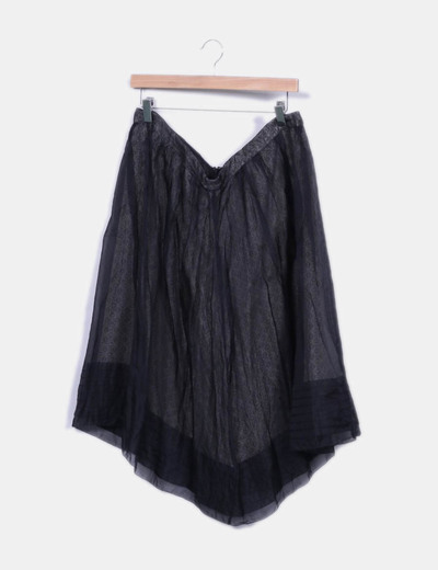 Jupe grise tulle Hoss Intropia