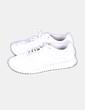 Chaussures blanches de sport Pull&Bear