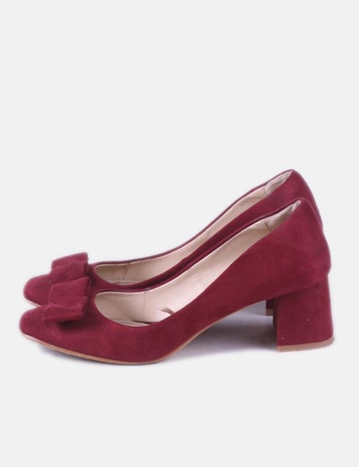 Zara Zapato De Salón Burdeos 76Micolet Lazodescuento yYb6gf7v