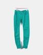 Jeans denim pitillo verde Bershka