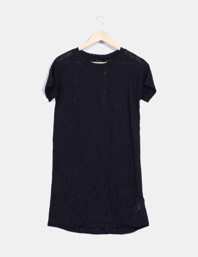 Camiseta negra manga corta MINKPINK