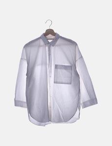 68a160578 Camisa blanca manga larga Zara