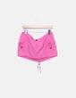 Mini falda lino rosa Zara