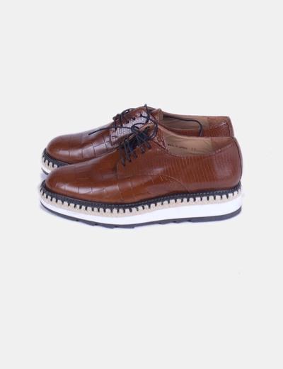 Chaussures compensées Castañer