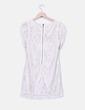 Vestido beige texturizado H&M