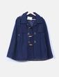 Capa azul  con capucha  ONLY