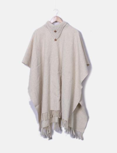 Capa lana beige