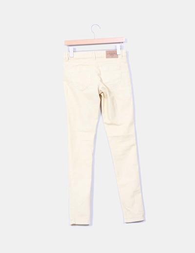 Pantalon elastico amarillo