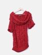 Jersey rojo de lana troquelado Miss Sixty