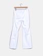 Pantalón campana blanco marinero H&M