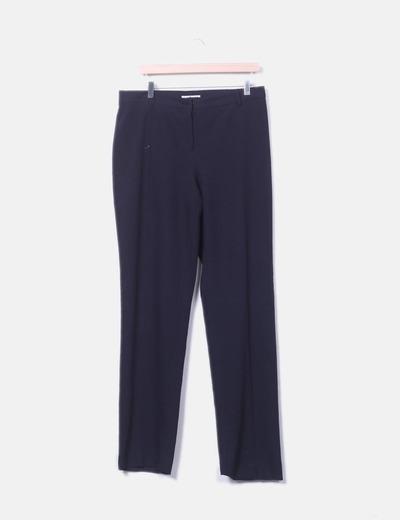 Pantalón recto azul amrino