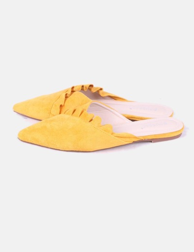 Gelbe Top Schuhe NoName