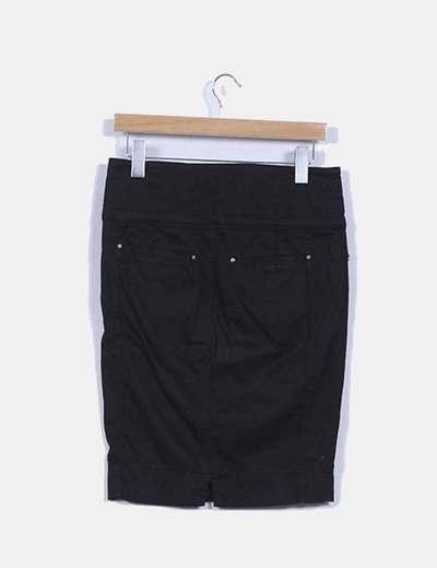 Falda tubo negro