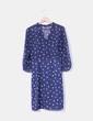 Vestido midi semitransparente Zara