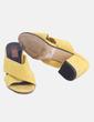Sandalia amarilla detalle tacón BLISS Couture