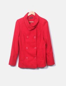 Abrigo rojo Abrigo Abrigo botón Lefties doble botón doble rojo Lefties doble botón Lefties rojo EHHYqw