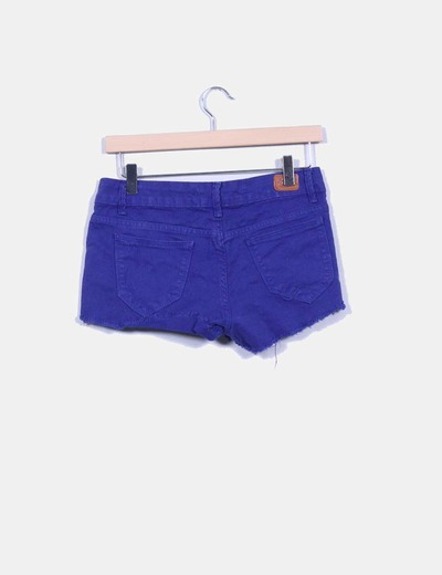 Short denim azul klein