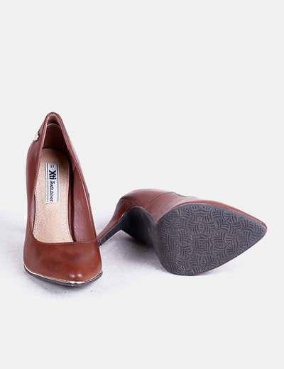 Zapatos marrones con tacon