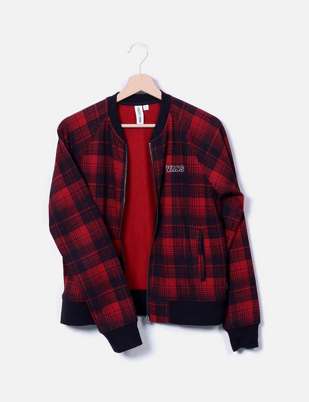 Baratos Chaquetas Y Chaqueta Rojo Vans Mujer Abrigos Online De TxtgfSY