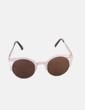 Gafas de sol cat eye metalizadas gold NoName