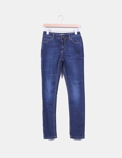 Pantalon en denim foncé Topshop
