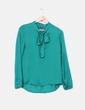 Blusa verde lazo Clp