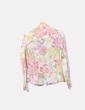 Camisa semitransparente floral Massimo Dutti