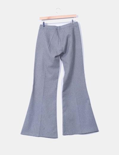 Pantalon sarga gris